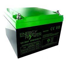 ENERGY POWER - BATTERIE 12V 26AH EN BAC V0 - ÉTANCHE AU PLOMB SANS ENTRETIEN !