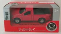 NEX Models Die Cast Metal Scale Model by WELLY 2015 Ford F-150 Regular Cab Red