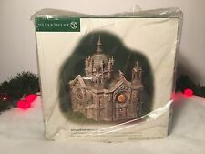 NEW DEPARTMENT 56 CHRISTMAS IN THE CITY SERIES CATHEDRAL OF SAINT PAUL (PATINA D