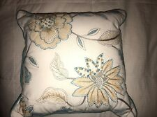 Threshold Decorative Square Pillow- Floral- 18 x 18""