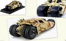 Batman Mobile The Dark Knight Rises Movie Car Khaki Camo 1:18 Scale Model Auto