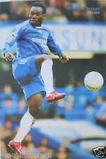 "MICHAEL ESSIEN ""IN THE AIR"" POSTER - Chelsea FC Premier League Football /Soccer"
