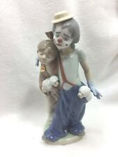 Lladro Pals Forever #7686 Retired Clown Figurine Collectors Item