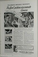 1949 Polaroid advertisement, Polaroid Land Camera instant film