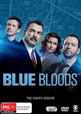 Blue Bloods The Eighth Season 8 Box Set DVD Region 4 NEW