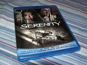 Serenity (Blu-ray Disc) Nathan Fillion Joss Whedon Firefly *Free Shipping*