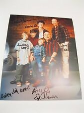 Thunder Alley Cast Hand Signed Autographed 8x10 Glossy Photo