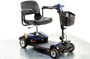 Pride Apex Rapid Used Mobility Scooter Transportable Small Lightweight Boot Susp