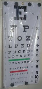 Eye Chart 11 x 22 inches  Elite Medical Instruments      (D001)