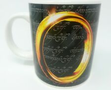 * ORIGINAL 2002 MUG TOLKIEN LORD OF THE RINGS THE FELLOWSHIP OF THE RING