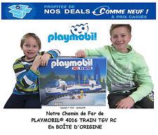 PLAYMOBIL® 4016 TRAIN TGV RC RAILS BATTERIE WAGON CHARGEUR Accessoire ☆ (5) ☆ 1E