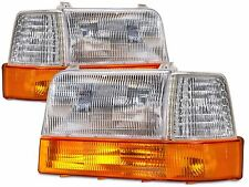 NEWMAR KOUNTRY STAR 1999 2000 2001 HEADLIGHTS HEAD LIGHTS LAMPS 6 PC RV - SET