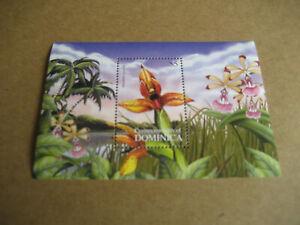 DOMINICA   2000    FAUNA AND FLORA: FLOWERS  SOUVENIR SHEET II