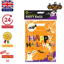 Halloween Party Bags Spooky Trick Or Treat Sweet Candy Loot Bag Favour Gifts UK