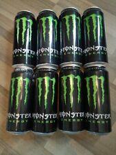 8 Leere Energy drink Dosen Monster Original Grün Cod Team Can Coca Cola Empty