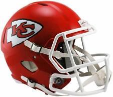 Football Riddell Kansas City Chiefs Full Size Revolution Speed Replica Helmet