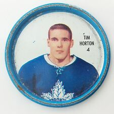 Shirriff Defense Tim Horton #4 Toronto Maple Leafs NHL Hockey Metal Coin A488
