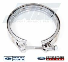 03-10 Ford 6.0 6.0L Powerstroke Turbo Diesel Exhaust Down Pipe Clamp 6C3Z5A231AA