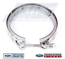 2003-2010 OEM Genuine Ford 6.0L Powerstroke Turbo Diesel Exhaust Down Pipe Clamp
