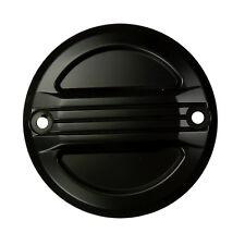 Zündungsdeckel Pointcover schwarz Airflow für Harley Sportster und Big Twin
