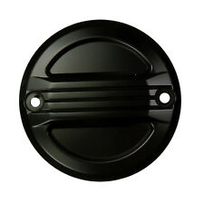 Ignición tapa pointcover negro Airflow para Harley sportster y Big Twin