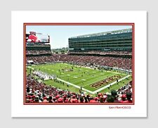 SAN FRANCISCO 49ers LEVI'S STADIUM Photo Picture FOOTBALL Poster 8x10 or 11x14