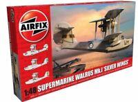 AIRFIX 1:48 SUPERMARINE WALRUS MK.I 'SILVER WINGS' MODEL AIRCRAFT KIT A09187