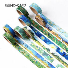DIY Washi Masking Tape 7 Meter Paper Sticker Van Gogh's Color Decor Scrapbook