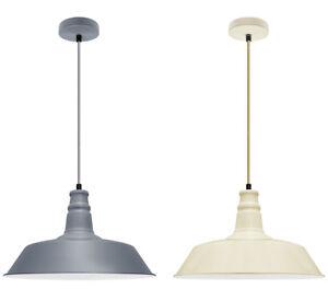 Retro Vintage Style Metal Ceiling Hanging Pendant Light Shade Modern Design Lamp