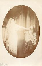 BE561 Carte Photo vintage card RPPC Femme woman Sarah Bernhardt actrice actress