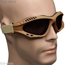 MFH Airsoftbrille Softair Occhiali protettivi Decorazione Occhiali Metallo