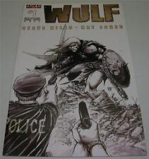WULF #1 Nat Jones SKETCH COVER VARIANT (Atlas Comics 2011) 1st PRINT (VF) RARE!