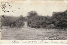 Antique POSTCARD c1906 Morristown Road MATAWAN, NJ