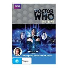 Doctor Who: The Movie DVD Brand New Region 4 Aust. - Paul McGann