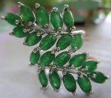 Normal behandelte Markenlose Ringe mit echten Edelsteinen für Damen
