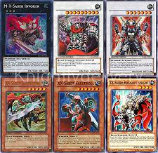Kite Blade Complete Deck - X-Saber - Gardestrike - Invoker - 45 Cards - Yugioh