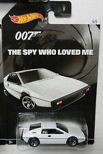 Hot Wheels HOLLYWOOD *JAMES BOND 007 SPY WHO LOVED ME* Loutus Esprit S1 *NIP*