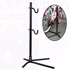 Bike Bicycle Display Stand Floor Portable Adjustable Storage Rack Repair Hook