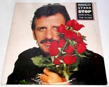 Ringo Starr  Stop And Smell The Roses 1981 Boardwalk 33246   Beatles  Rock  VG++