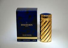BOUCHERON OLD FORMULA EAU DE TOILETTE 75 ML SPRAY REFILLABLE MODELE JOAILLERIE