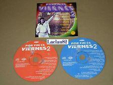 Por Fin Es Viernes 2 Varios 1998 Max Music Cd Doble RARE Press Mexican