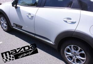 Mazda 3 6 CX 9 5 4  Hatchback Mazda Racing Decal Vinyl sticker emblem logo