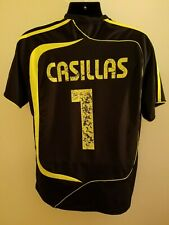Spain National Team Iker Casillas Football Action Soccer Jersey Used Size L