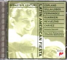 Latin American Fiesta Leonard Bernstein CD Album SONY