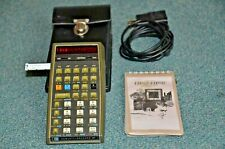 Hewlett-Packard HP 67 Programmable Calculator in Hard Field Case, FW, 90-DW