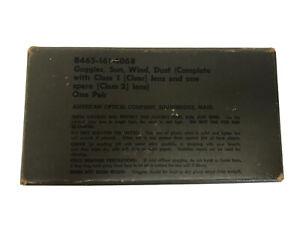 Military M-1944 Goggles w/Box No. 8465-161-4068