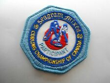 1980 Seagram Mixed Participant Curling  Patch