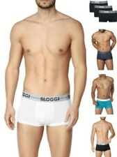 3 Pack Sloggi Men Go Hipster 10198138 Mid Rise Boxers Underwear