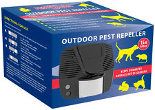 ELECTRONIC Animal Cat, Rats, Dogs, Badgers & Squirrel Repeller PestClear