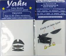 Yahu Models YMA3204 1/32 PE Fiat G.50bis instrument panel Special Hobby